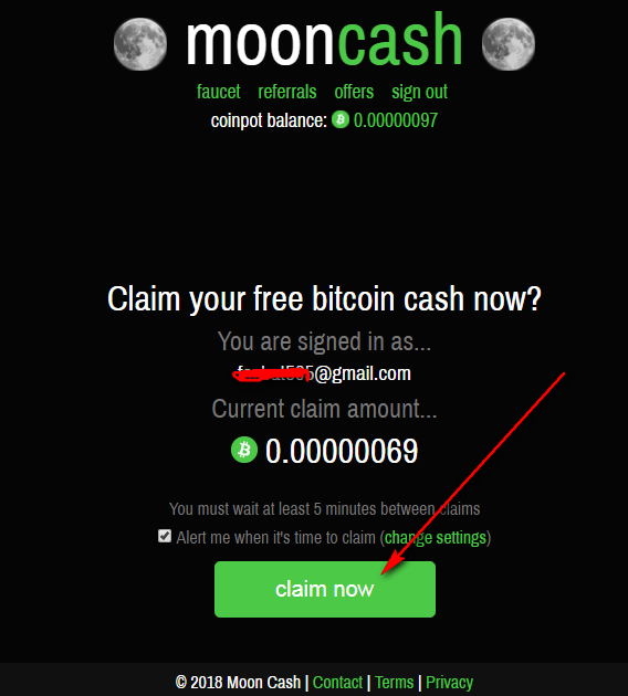 moon cash co in